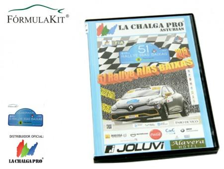 DVD 51º Rallye Rías Baixas 2014