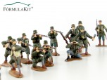 1:72 Colección de 20 Soldados 1ª Guerra Mundial Ejercito Alemán