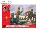 1:72 British Comandos 2ª Gerra Mundial