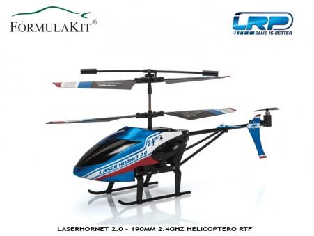 Helicóptero LaserHornet 2.0 - 190 Coaxial RTF 2,4GHz