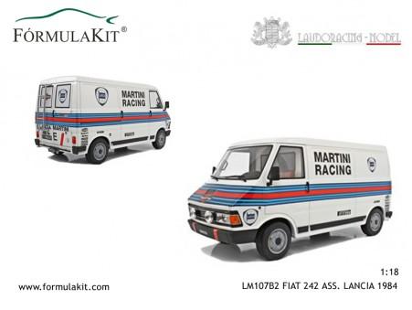 1:18 Fiat 242 Asistencia Lancia MARTINI 1984