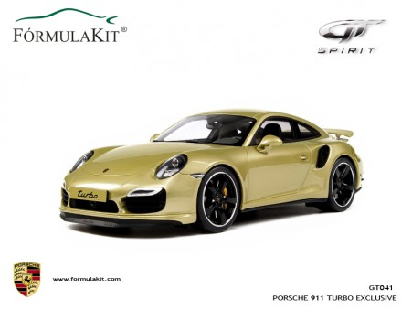 1:18 Porsche 911 (991) Turbo Exclusive Gold By Porsche