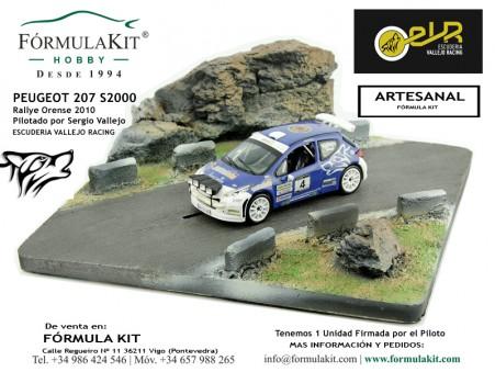 1:43 Peugeot 207 S2000 Sergio Vallejo