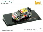 1:43 Citroën DS3 WRC Winner Paul Ricard 2016
