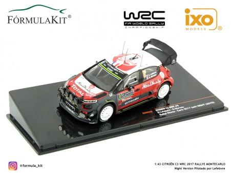 1:43 Citroën C3 WRC 2017 Rallye Montecarlo