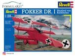 1:28 Fokker DR.1 Richthofen Barón Rojo