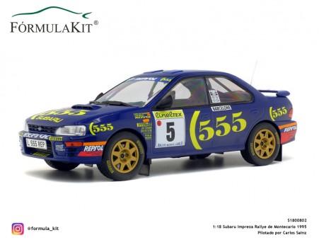 1:18 Subaru Impreza Rallye Montecarlo 1995