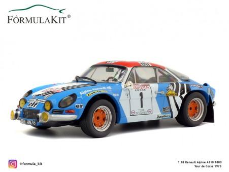 1:18 Renault Alpine A110 Tour de Corse 1973