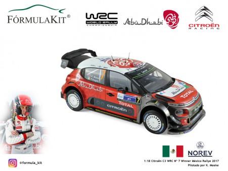 1:18 Citroën WRC Winner Rallye México 2017