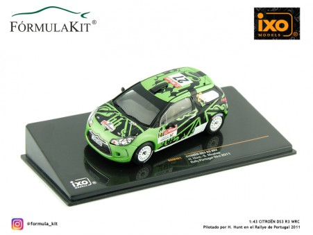 1:43 Citroën DS3 R3 Nº27 WRC 2011