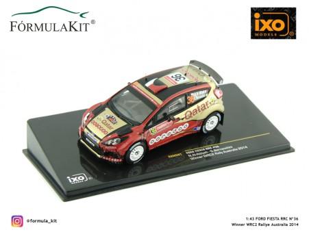 1:43 Ford Fiesta RRC Nº36 Winner WRC2