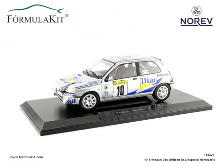 1:18 Renault Clio Williams Rallye de Montecarlo