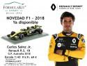 1:43 Renault R.S. 18 G.P. Australia 2018 Carlos Sainz Jr.