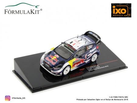 1:43 Ford Fiesta WRC Rallye de Montecarlo 2018