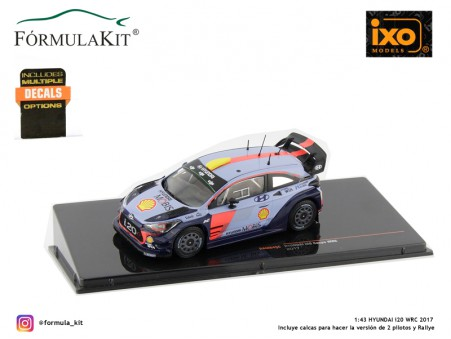 1:43 Hyundai i20 Coupe WRC 2017
