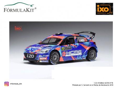 1:43 Hyundai i20 R5 WRC 2018 Rallye de Montecarlo