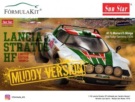 1:18 Lancia Stratos HF Rallye San Remo 1976