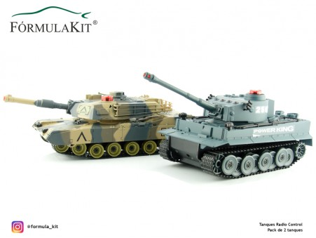 Pack 2 Tanques Radio Control