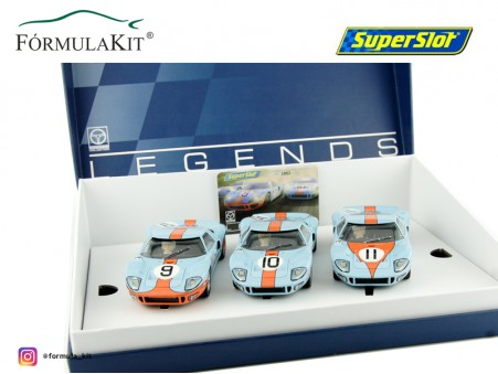 Ford GT40 1968 Gulf Triple Pack