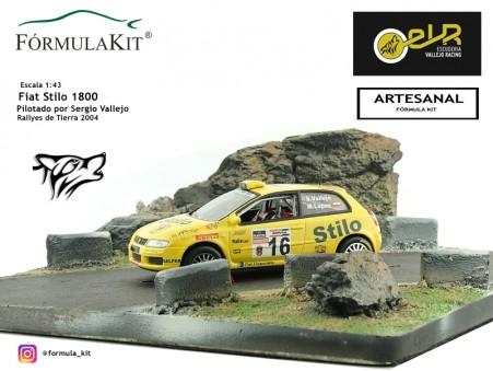 1:43 Fiat Stilo Sergio Vallejo Rallyes de Tierra 2004