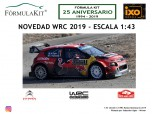 1:43 Citroën C3 WRC Winner Rallye Montecarlo 2019 Ogier
