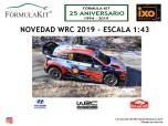 1:43 Hyundai i20 WRC Rallye Montecarlo 2019 Neuvile