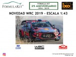 1:43 Hyundai i20 WRC Rallye de Montecarlo 2019 Loeb