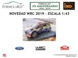 1:43 Ford Fiesta R5 WRC Rallye de Montecarlo 2019 Formaux