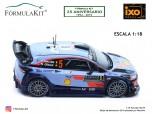 1:18 Hyundai i20 WRC Rallye Montecarlo 2018 Neuville