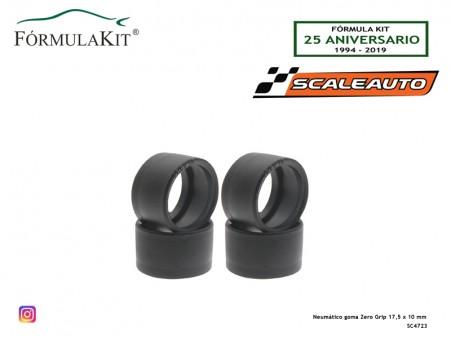 Neumático goma Zero Grip 17,5 x 10 mm