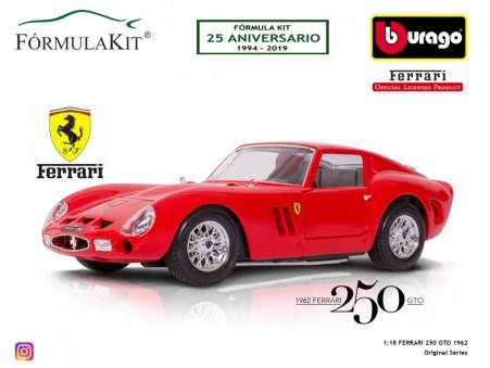 1:18 Ferrari 250 GTO 1962