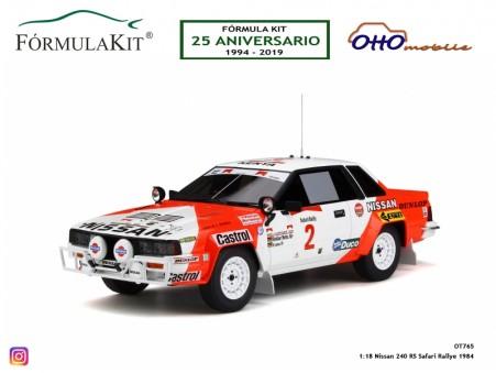 1:18 Nissan 240 RS Safari Rallye 1984