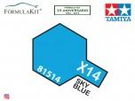 Pintura Tamiya X-14 Sky Blue