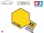 Pintura Tamiya X-8 Lemon Yellow