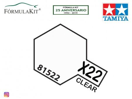 Barniz X-22 Clear