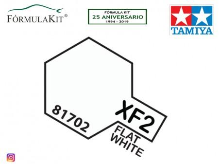 Pintura Tamiya XF-2 Flat White