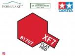 Pintura Tamiya XF-7 Flat Red