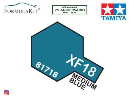 Pintura Tamiya XF-18 Medium blue