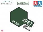 Pintura Tamiya XF-67 NATO Green