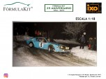 1:18 Alpine Renault A 310 Rallye Montecarlo 1975