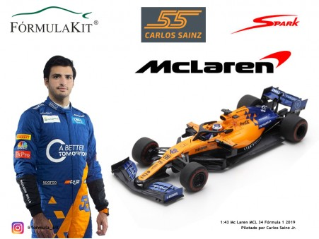 Mc Laren MCL 34 G.P. Australia Carlos Sainz