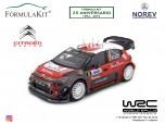 1:18 Citroën C3 WRC 2017 Tour de Corse