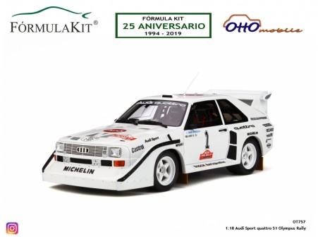 1:18 Audi Sport quattro S1 Olympus Rally
