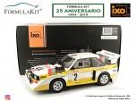 1:18 Audi quattro S1 Rallye de Montecalo 1986 W. Röhrl