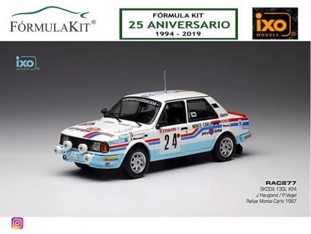 1:43 Skoda 130L Rallye de Montecarlo 1987