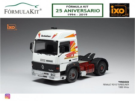 1:43 Renault R310 Turboliner 1986