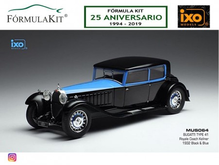 1:43 Bugatti Type 41 Royale Coach 1932
