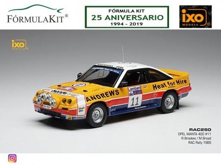 1:43 Opel Manta 400 Rallye RACC 1985