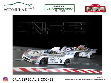 Porsche 908/3 1000 Km Nurburgring Martini Racing Team
