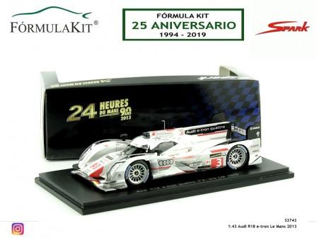 1:43 Audi R18 e-tron Le Mans 2013